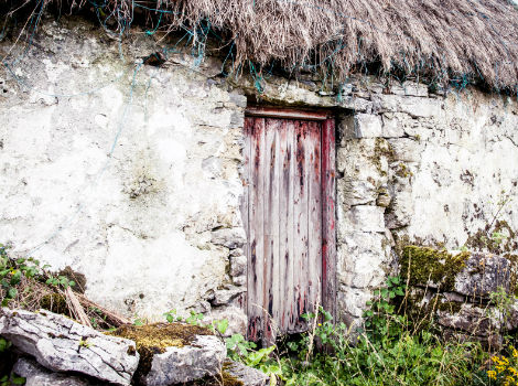Aran Island Thatched Cottage, Galway, Ireland