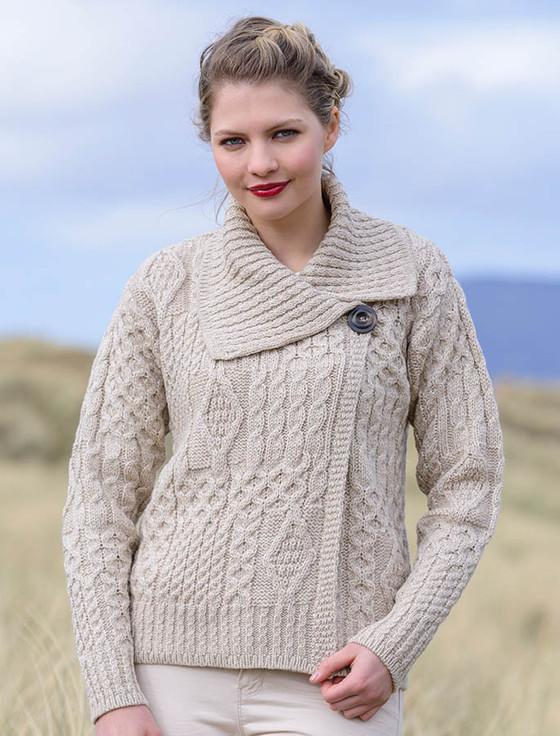 Sale on Irish Knitwear, Aran Sweaters & Cardigans | Aran Sweater Market