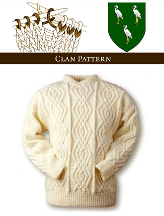 Ahern Knitting Pattern