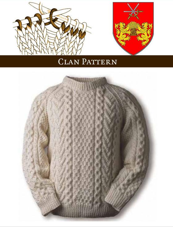 Aran Knitting Patterns Irish Sweater Pattern Aran Sweater Market