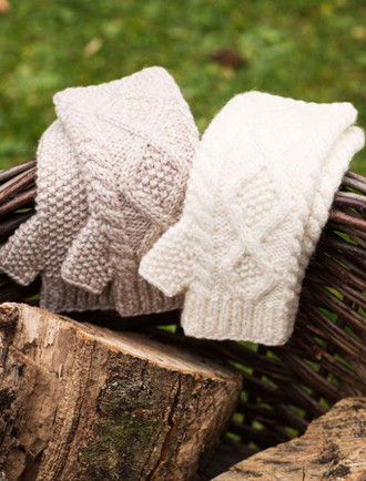 Fingerless Mittens