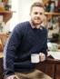 Mens Handknit Honeycomb Stitch Sweater - Nightshade