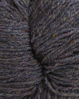 Aran Wool Knitting Hanks - Denim Mix