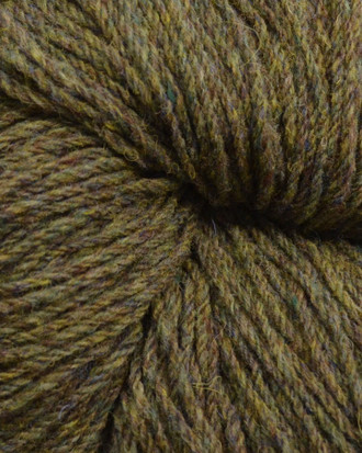 Aran Wool Knitting Hanks - Green Bushes