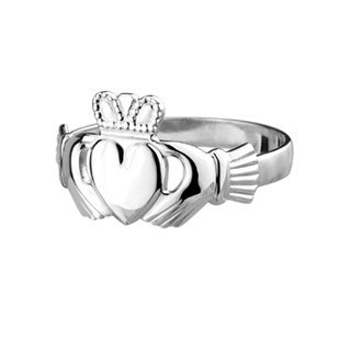 Ladies' Sterling Silver Claddagh Ring