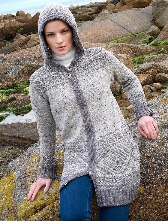 Xxs fair cardigan helga for hooded women isle guide