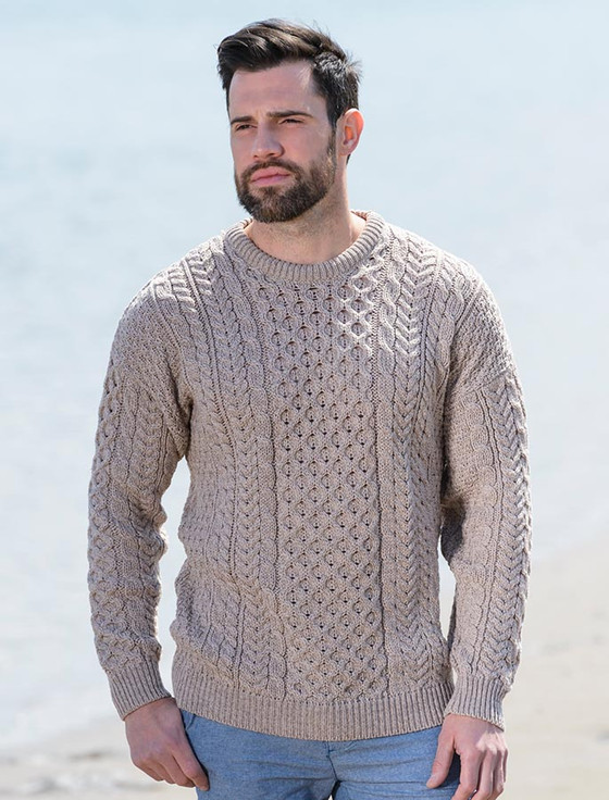 Aran sweater, Irish sweater, Cable knit sweater | Aran Sweater Market