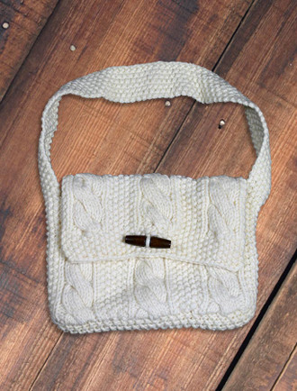Small Aran Satchel