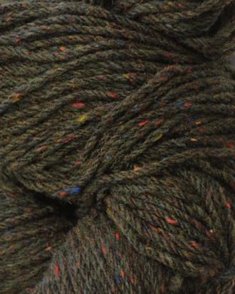 Aran Wool Knitting Hanks - Moss Green