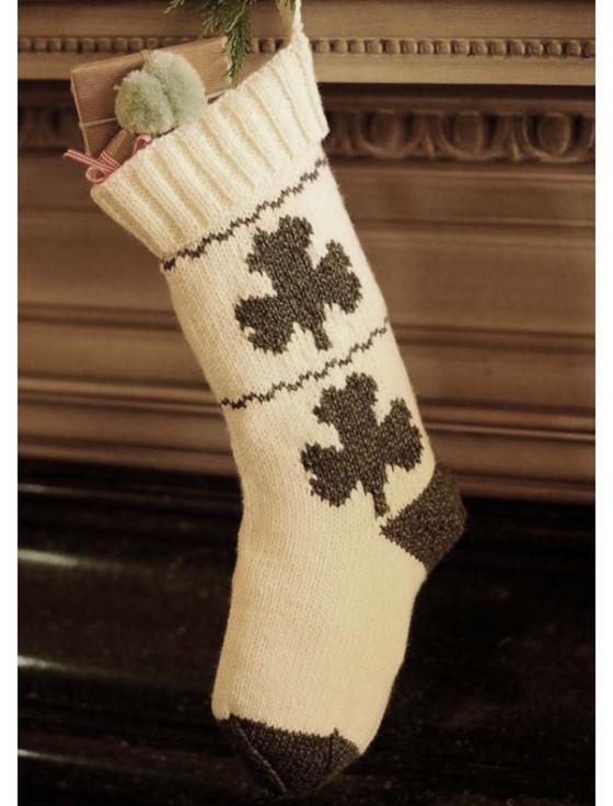 Shamrock Christmas Stockings