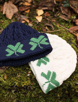 Merino Wool Shamrock Hat
