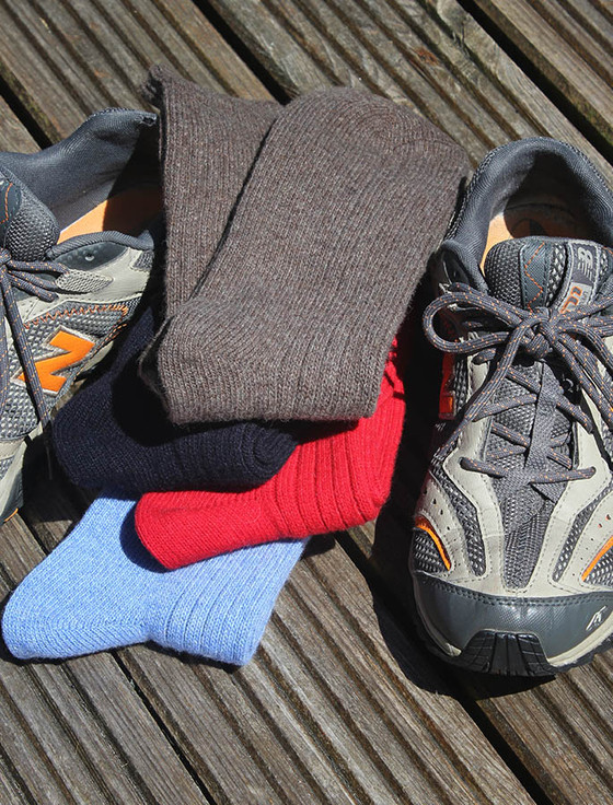 Connemara Merino Wool Walking Socks