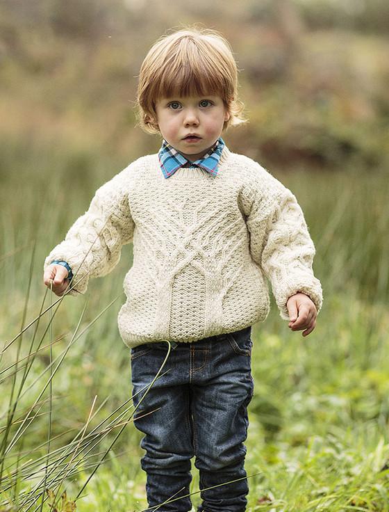 Kid's Merino Wool Tree of Life Sweater