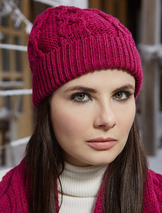Chunky Cable Hat