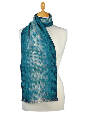 Tweed Stripe Scarf