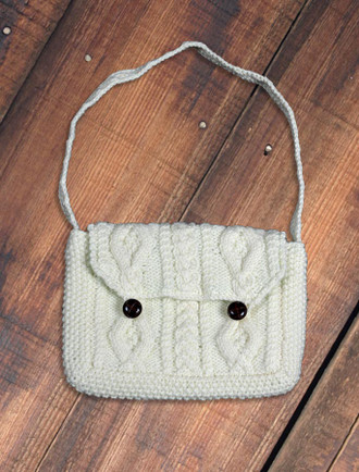 Small Handknit Purse Bag