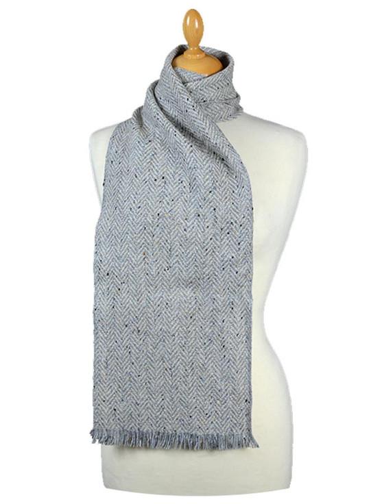 Herringbone Tweed Scarf