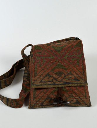 GlenAran Celtic Shoulder Bag - Greenwood