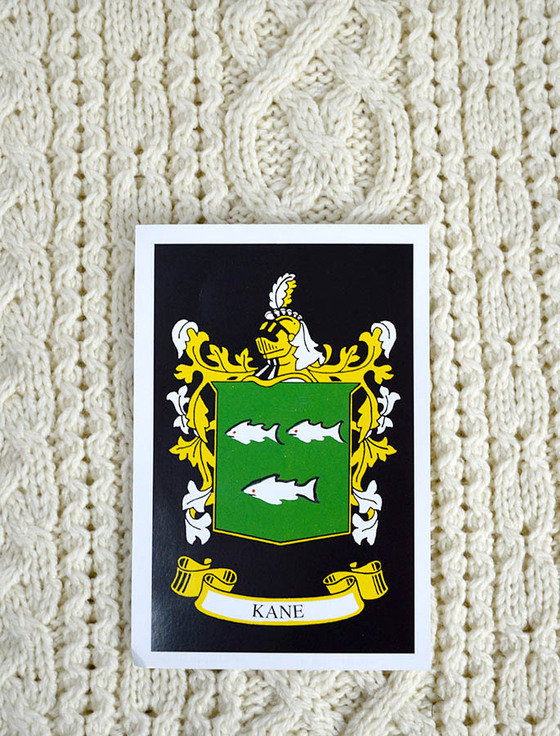 Kane Clan Aran Throw