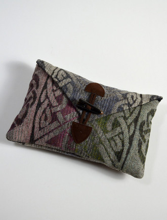 GlenAran Celtic Clutch Bag - Spring Mix