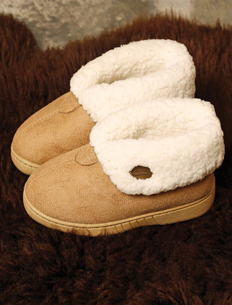 Kid's Irish Wool Slippers