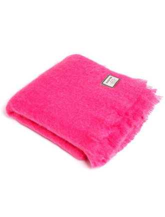 Mohair Throw - Petunia