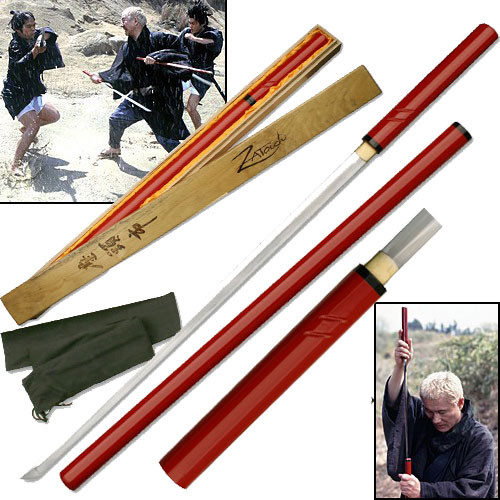 Zatoichi Handmade Nodachi Cane Sword Blind Samurai