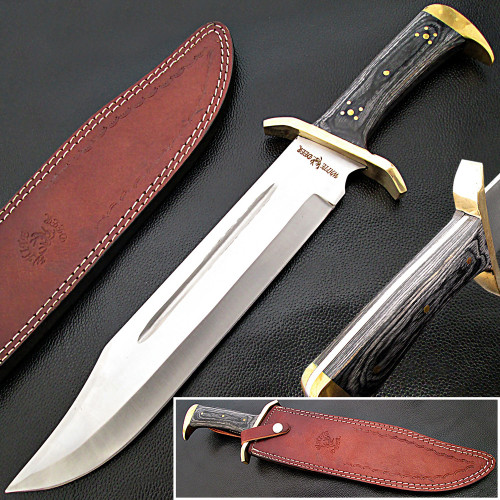 Extreme Duty Xxl Bowie Knife Large Japanese Cp Steel