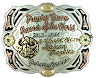 The Slaton trophy buckle