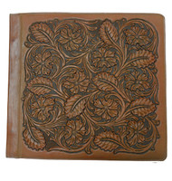 Leather Tooled Photo Album