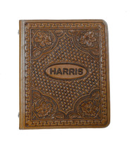 Leather Tooled Portfolio