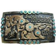 The Clovis Trophy Buckle
