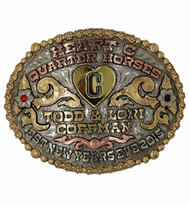 The Katy Western Buckle