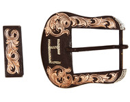 The Raymondville Western Buckle