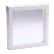 3D Buckle Shadow Box - White