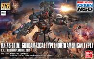 #017 Local Type Gundam {North America Custom} [THE ORIGIN] (HG)