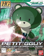 Petit'gguy Lockon Stratos Green & Placard (HGPG)