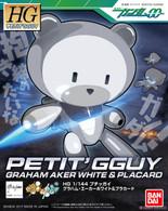 Petit'Gguy Graham Aker White & Placard (HGPG)