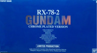RX-78-2 Gundam [Chrome Plated Version]  [Mobile Suit Gundam] (PG) /P-BANDAI EXCLUSIVE\