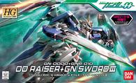 #054 00 Raiser + GN Sword III (00 HG)