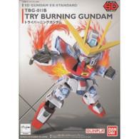 #011 Gundam Try Burning Gundam EX-Standard (SD)