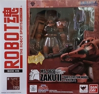 #193 Char's Custom Zaku II [Ver. A.N.I.M.E.] (Robot Spirits)
