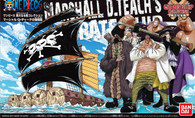 Marshall D. Teach Pirate Ship [One Piece] (HG)