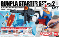 Gunpla Starter Set 2: Gundam Ver. G-30th