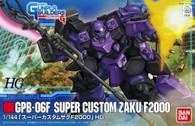 #003 Super Custom Zaku F2000 (HG)