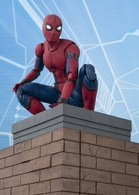 S.H. Figuarts Spider Man & Tamashii OPTION ACT WALL (Spider Man: Homecoming)