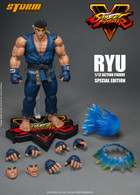 Ryu -Special Edition Blue Ver- [Street Fighter V] (Storm Collectibles)