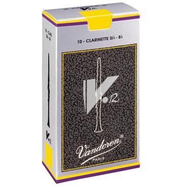 VANDOREN B FLAT CLARINET REEDS V12