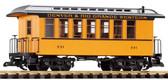 Piko D&RGW Wood Coach 331 G Scale 38600