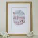 Personalised Shoe Lovers Friendship Print - Framed
